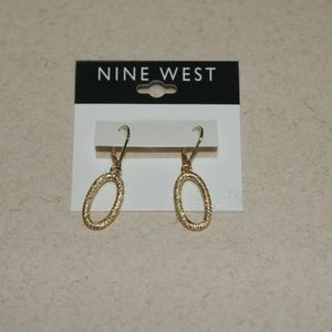 New Nine West Dangle Earrings